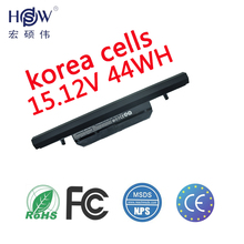 Genuine original 15.12V 44Wh WA50BAT-4 laptop battery for Clevo 6-87-WA50S-42L 6-87-WA50S 6-87-WA5RS bateria akku