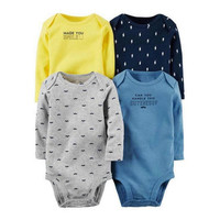 High quality baby boys girls suit infant 4 pack 6 pack bebe suits offertespecia baby clothing