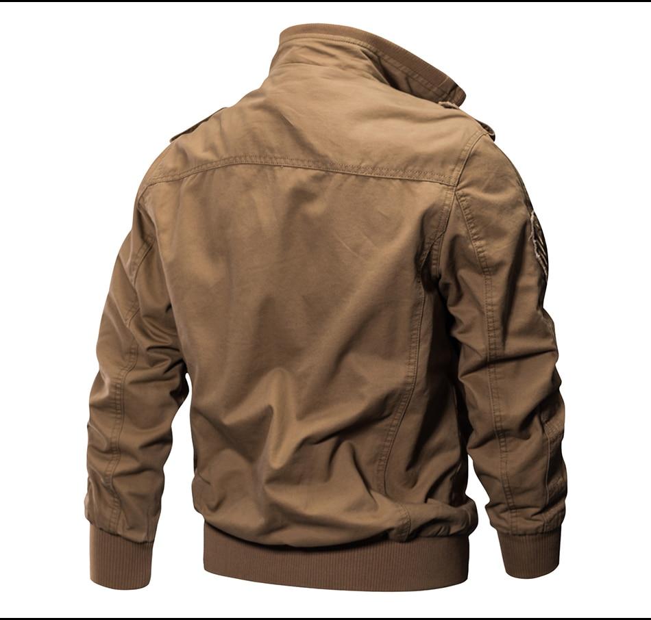 HTB13j1QmVGWBuNjy0Fbq6z4sXXaC 2018 Plus Size Military Jacket Men Spring Autumn Cotton Pilot Jacket Coat Army Men's Bomber Jackets Cargo Flight Jacket Male 6XL