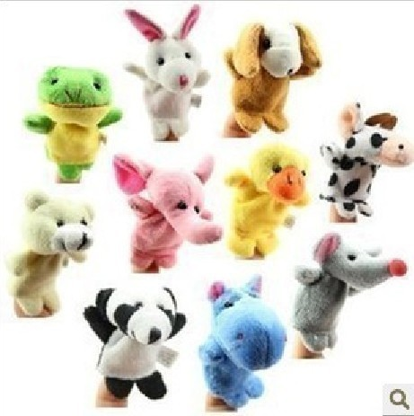 Free shipping 100 / lot new 2013 Large baby plush toys / finger puppets / dolls / children toys / children gift