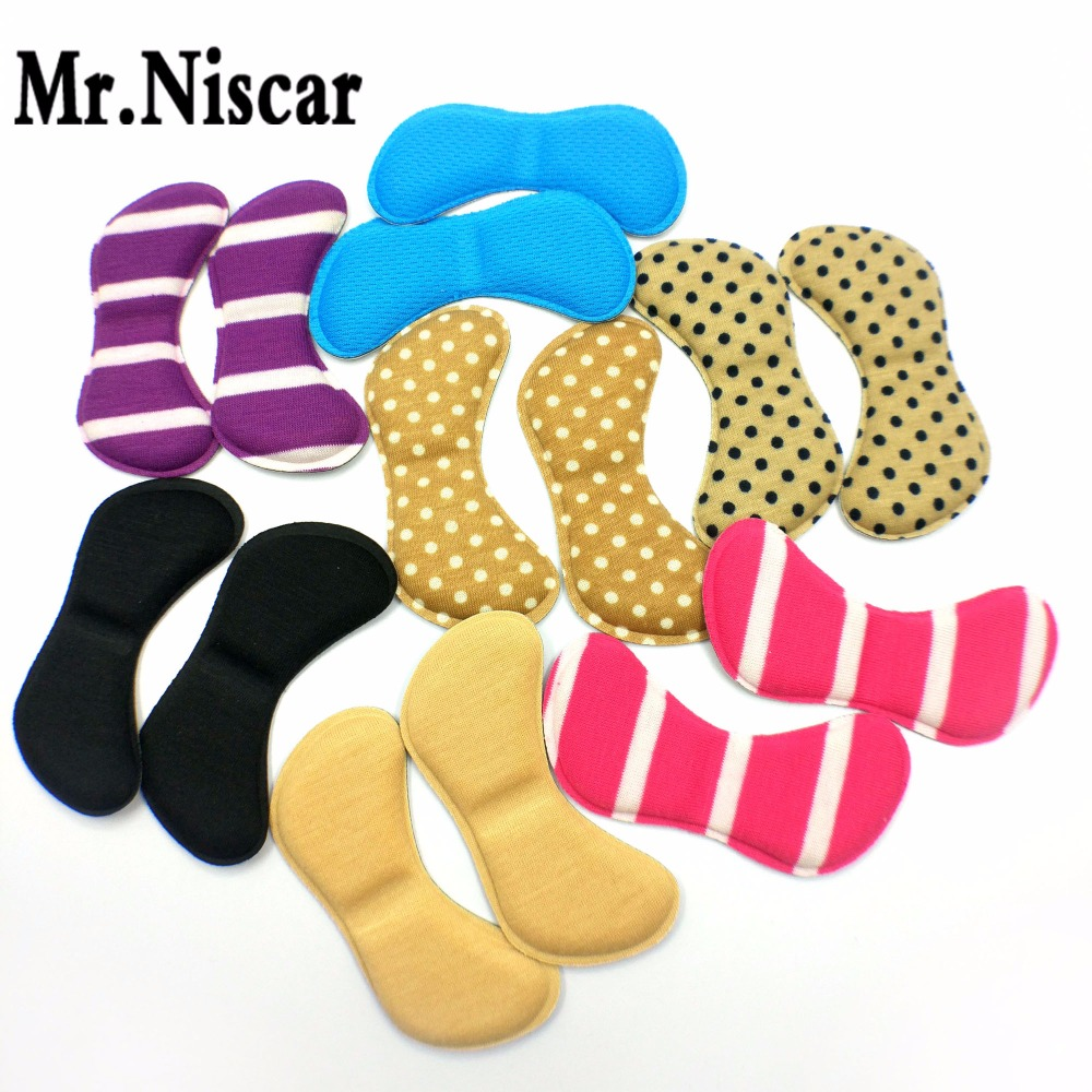 Mr.Niscar 10 Pair Butterfly-Shape Insoles High Heel Shoes Pad Super Soft Insole Non-slip Sponge Shoe Cushion Foot Heel Protector expfoot orthotic arch support shoe pad orthopedic insoles pu insoles for shoes breathable foot pads massage sport insole 045