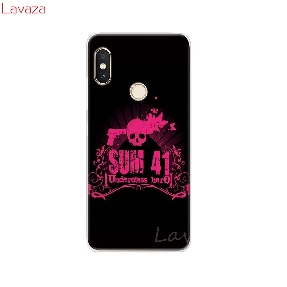 Lavaza Sum 41 Blink 182 More Nirvana Smiley Hard Case for POCOPHONE F1 Cases for Xiaomi Redmi Note 6 Pro 6A Mi 8 Lite Cover in Half wrapped Cases from Cellphones Telecommunications
