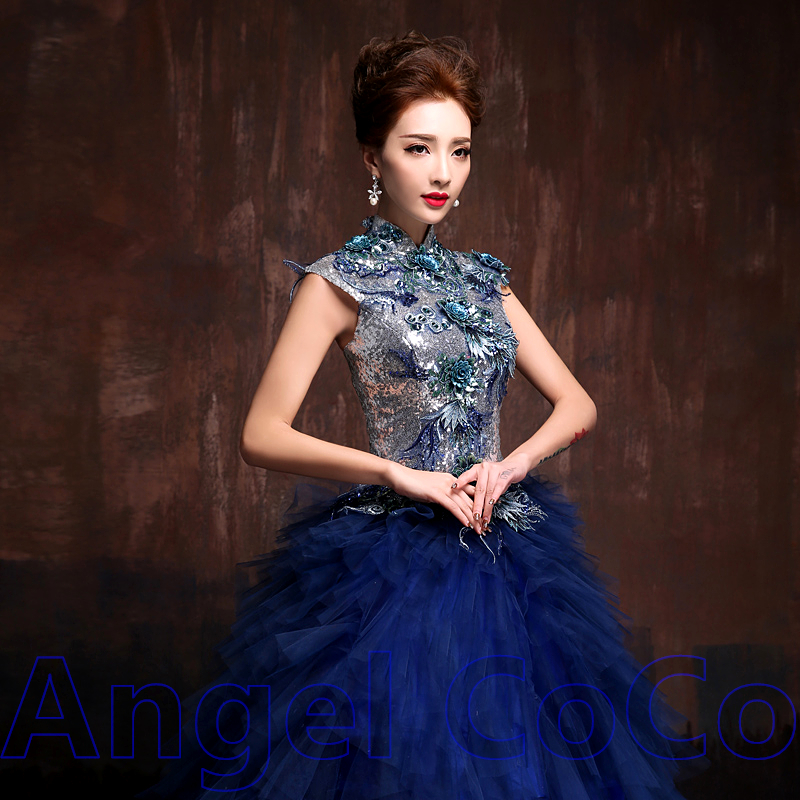 Robe soiree style princesse