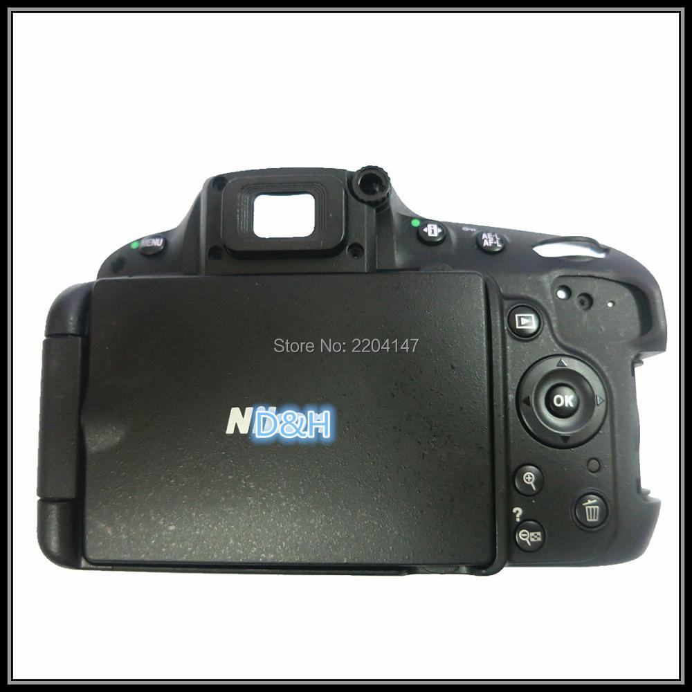 Test OK! Original  D5100 back cover shell with LCD and key button for Nikon D5100  FPC replacement part for Nikon D5100|Camera Shell| |  - title=