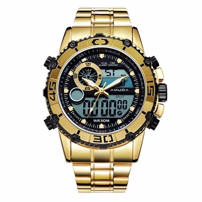 Neueste Kollektion Von 2019 Neueste Amuda Uhren Männer Luxus Elektronische Handgelenk Uhren Analog Digital Männlichen Sport Uhr Relogio Masculino Mit Dem Besten Service Herrenuhren