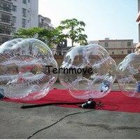 Air Футбол Бесплатная доставка 1,5 м надувной мяч для футбола мяч Зорб мяч Пластик шары гигантские надувные мяч валун