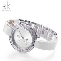 Sk new women s female diamond watches white leather strap top luxury brand ladies wristwatch stainless.jpg 200x200