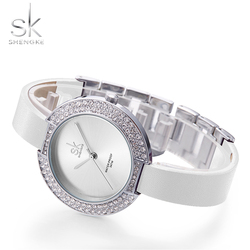Sk new women s female diamond watches white leather strap top luxury brand ladies wristwatch stainless.jpg 250x250