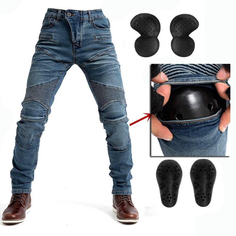 Volitivo 2019 Nuovo Disegno Moto Pantaloni Degli Uomini Di Moto Jeans Equipaggiamento Protettivo Equitazione Touring Moto Pantaloni 718 Pantaloni Motocross Con La Prote Buon Sapore