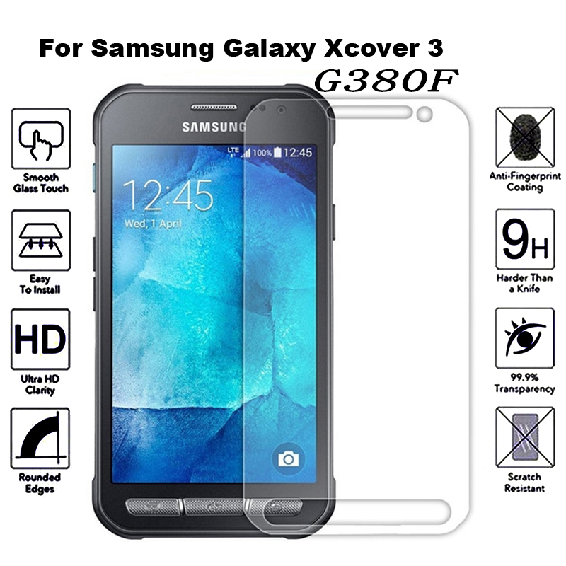 2pcs Tempered Glass for Samsung Galaxy Xcover 4 3 S8 Active G380F G390F Explosion-proof Protective Film Screen Protector2pcs Tempered Glass for Samsung Galaxy Xcover 4 3 S8 Active G380F G390F Explosion-proof Protective Film Screen Protector