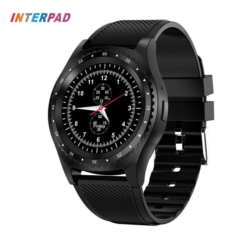 Neueste Interpad L9 Smart Uhr Mit Kamera Bluetooth Sportuhr Fitness Monitor Unterstützung Sim-karte Smartwatch Für Xiaomi Huawei