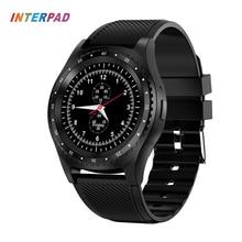 Купить с кэшбэком Newest Interpad L9 Smart Watch With Camera Bluetooth Sports Watch Fitness Monitor Support SIM Card Smartwatch For Xiaomi Huawei