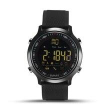 Reloj inteligente A Prueba de agua IP68 Pasómetro Mensaje Recordatorio de Espera Ultra-largo Al Aire Libre de Natación Deporte Smartwatch para Android ios