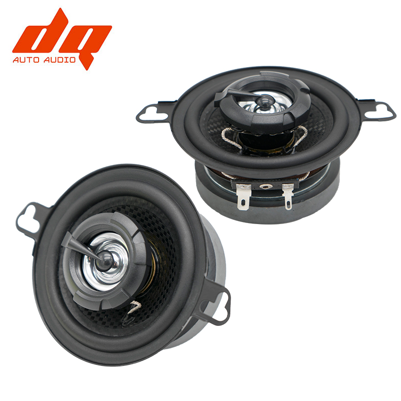 2pcs 3 5inch 2 way Coaxial Speaker Car Full frequency Modified Music Stereo Loud Speaker Subwoofer