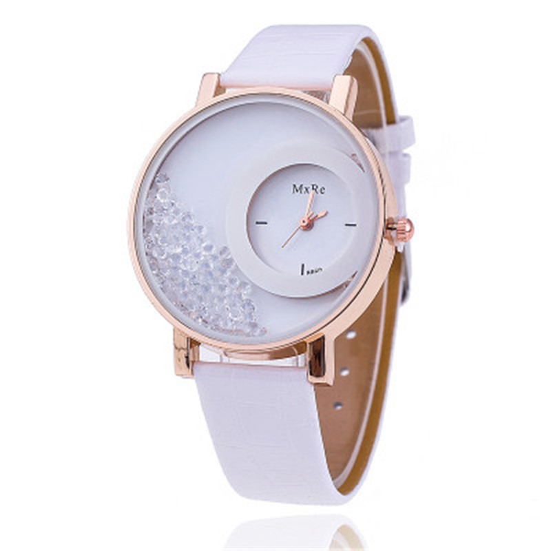 2018 new hot explosion sand sand fashion women's watch fashion ball jewelry watch diamond foreign trade Europe and the United St