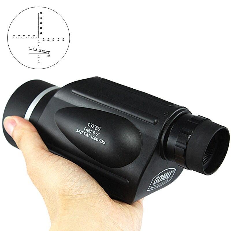 Gomu 13x50 Fernglas Mit Entfernungsmesser Wasserdichte Teleskop Abstand Meter Typ Monokulare Outdoor Binoculo 114 M/1000 M Buy One Give One Monokular/fernglas