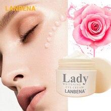 цена на LANBENA Whitening Eye Cream Eye Serum Dark Circle Anti-Aging Eye Patch Repair Ageless Lifting Firming Anti-Puffiness Skin Care
