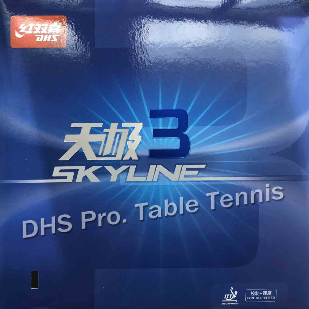 DHS Skyline TG3 TG 3 TG-3 Pips-In Table Tennis PingPong Rubber With Sponge
