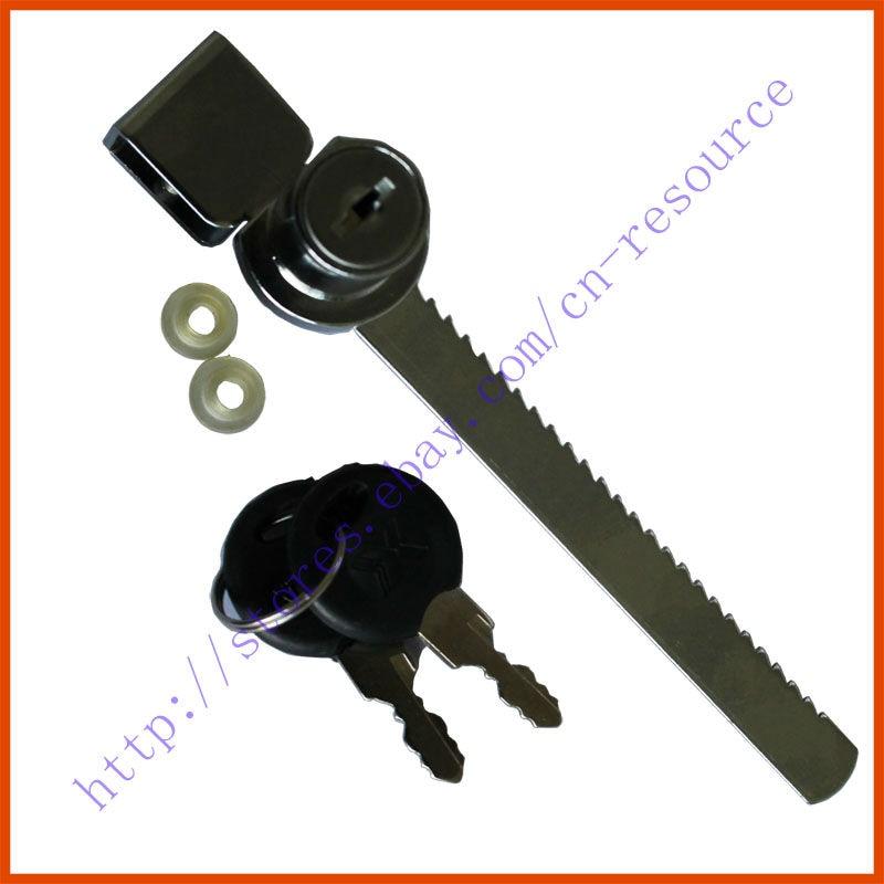 Cabinet Drawer Display Case Showcase Sliding Glass Push Door Ratchet Lock 2 KeysCabinet Drawer Display Case Showcase Sliding Glass Push Door Ratchet Lock 2 Keys