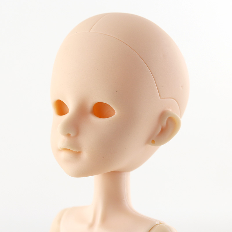 New 1/6 DIY Naked Makeup Doll Bald Head Accessories For 30cm Dolls Naked Nude Make Up Bald Head Toys For Girls Gifts