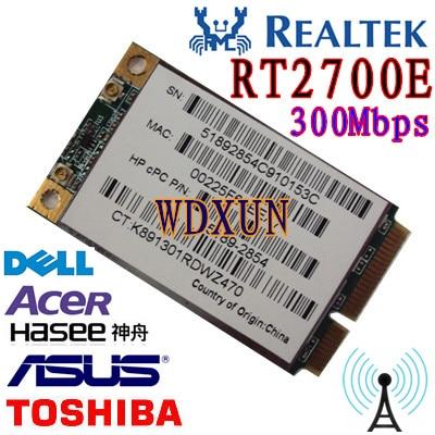 RAK-RT2700E Mini PCI Express WLAN PC Karte 300 Mbps 802.11 b/g/n WIFI WLAN
