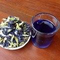 50g. Alta Calidad Clitoria Ternatea Té. Blue Butterfly Pea tea. Dried Clitoria kordofan pea flower. Tailandia. shiping libre