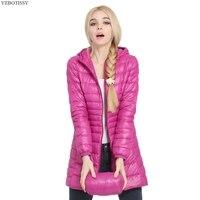 2017 nouveau plus la taille automne hiver manteau femmes Mode Automne Slim Chaud Dames vestes avec sweat à capuche zip moyen long survêtement manches