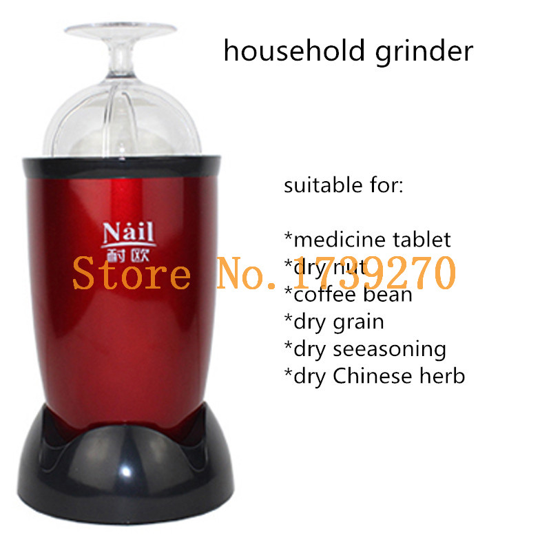 2018 new arrival household electric medicine tablets powder grinder, food mill grinding machine ,powder grinder machine high quality 300g swing type stainless steel electric medicine grinder powder machine ultrafine grinding mill machine