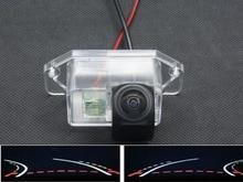 1080P Fisheye Lens Trajectory Tracks Car Rear view Camera For Mitsubishi Lancer 2002 2003 2004 2005 2006 2007 2008 2009 2012