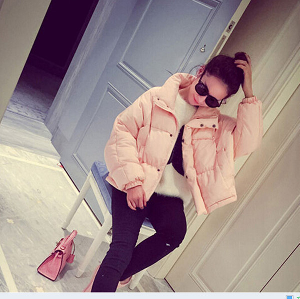 Korea Style Womens jackets and coats long down jackets fashion casual irregular cotton winter coat women parkas Q0276