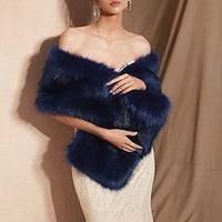 Casual Women Bolero Shawls Warm Outerwear Winter Jacket Bride Wraps Cape Winter Wedding Fur Bridal Coat Accessories