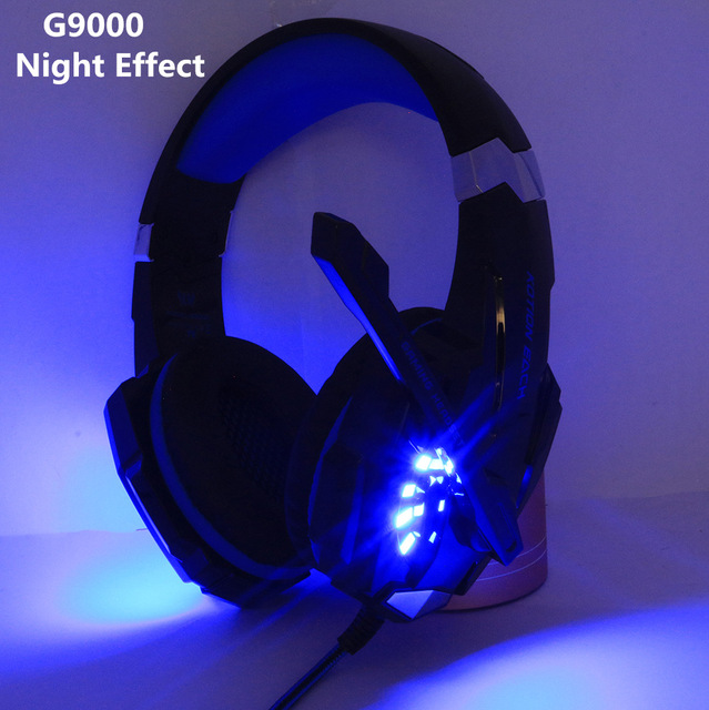 Gaming Headset and Gaming Mouse 4000 DPI Adjustable Stereo Gamer Earphone Headphones 4