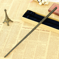 2018 Colsplay Metal Core Newest Quality Deluxe COS Harry Potter Magical Sirius Black Magic Wands/Stick with Gift Box Packing