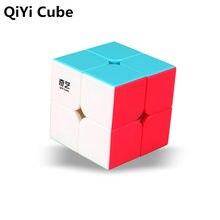 QiYi QI DI S 2x2x2 Magic Cube Stickerless QIDI Pocket Speed Cubes Professional Puzzle Educational Toys For Children