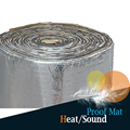 "1 Roll 6sqm Car Thermal Heat Proofing Sound Shield Insulation Mat Deadener Deadening Noise Control 240"" x 40"""