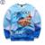 Mr.1991 nueva juventud divertido 3D moda Mandíbulas pizza impreso sudaderas grandes niños sportwear hoodies niños adolescentes Primavera Otoño fina W13