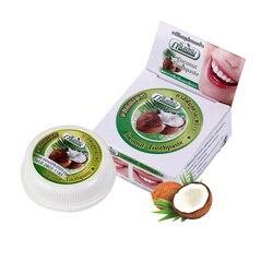 10g/25g Zahnpasta Natürliche Coconut Kraut Clove Mint Geschmack Zahnaufhellung Paste Kit Zahnpflegemittel Entfernen Flecken Zahnreinigung