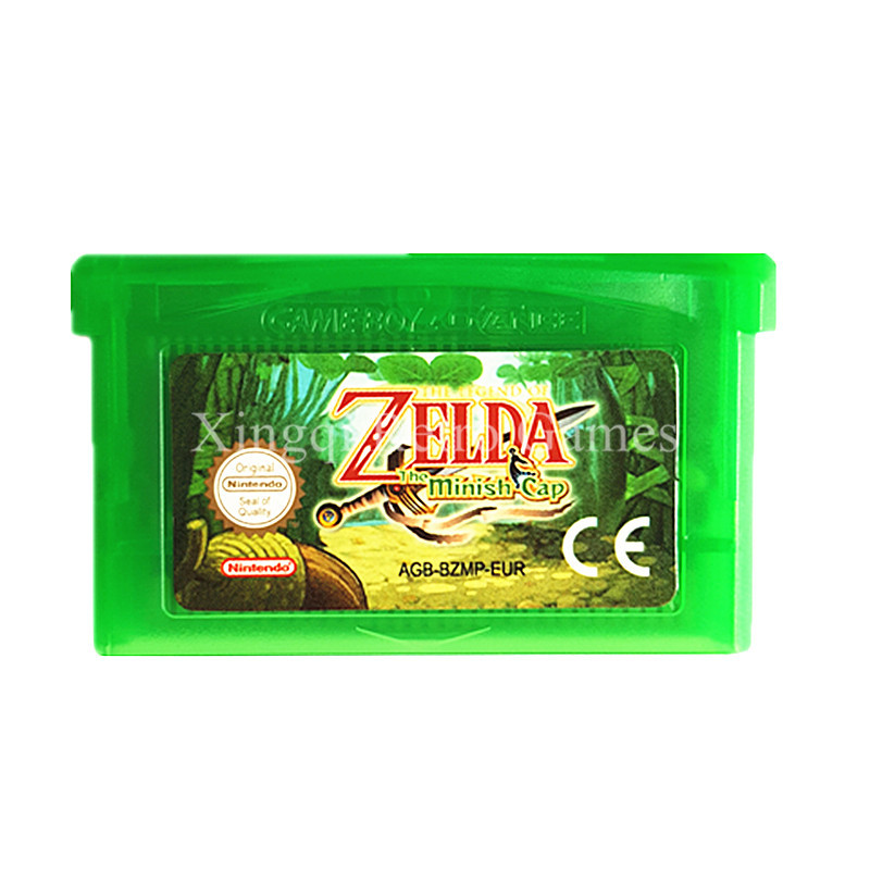 Nintendo GBA Spiel The Legend of Zelda Die Minish Cap Video Spiel...