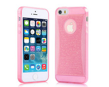Case for iPhone 5 5G 5s cases Mobile Phone Bright Pink for iPhone Back Cover Shell Case