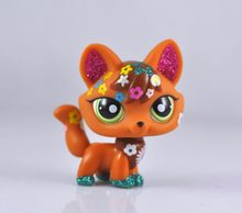 Littlest Pet Gato Raposa Coleção Girl Child Figura Menino Solto Toy LP14(China)