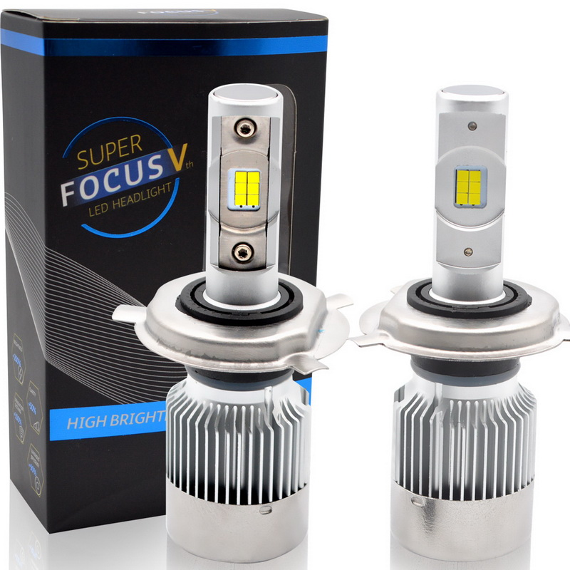 Safego H4 led H7 H11 H8 H9 CSP Car LED Headlight Bulbs Hi-Lo Beam 70W 6000LM 6000K Auto Headlamp Fog Light Bulb DC 12v ironwalls 2pcs set car headlight cree csp chips 72w hi low beam led driving light auto front fog light for audi toyota honda