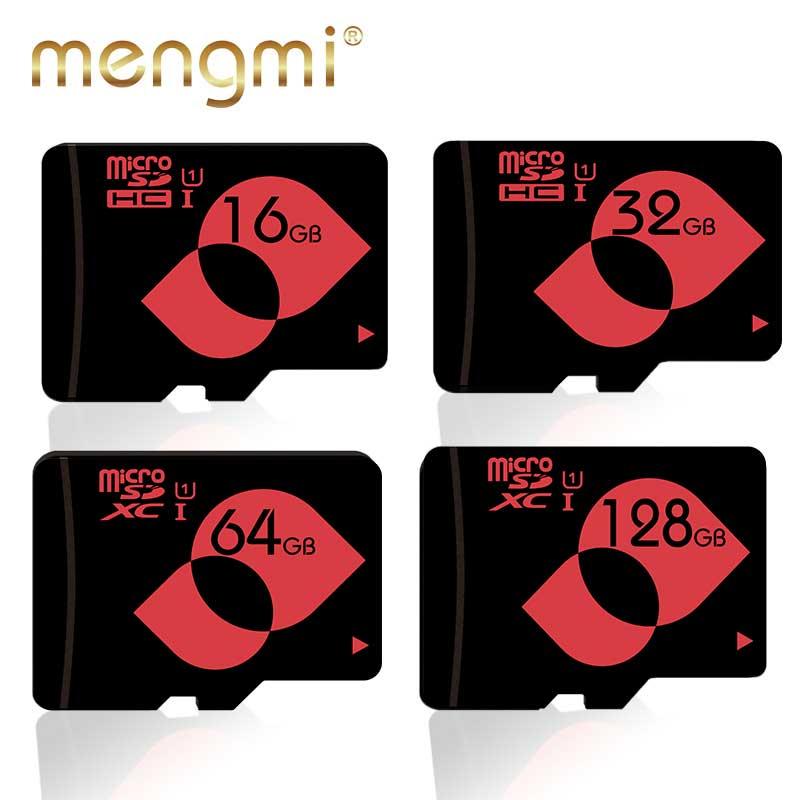 Mengmi Memory Card Micro SD 16GB U1 8GB Class10 Microsd Card 32gb 64GB 128GB SDHC SDXC C10 tf card for Camera Cellphone