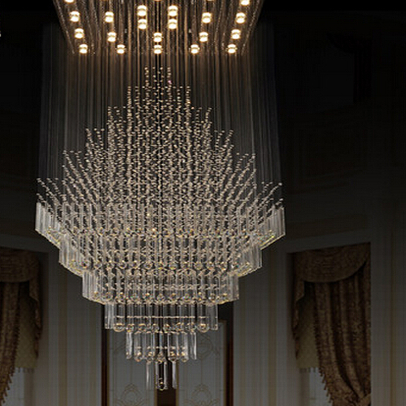 Us 410 4 10 Off New High Quality Large Modern Chandeliers Crystal Lamp Pendant Designer Chandelier For Hotel And Home In From Lights