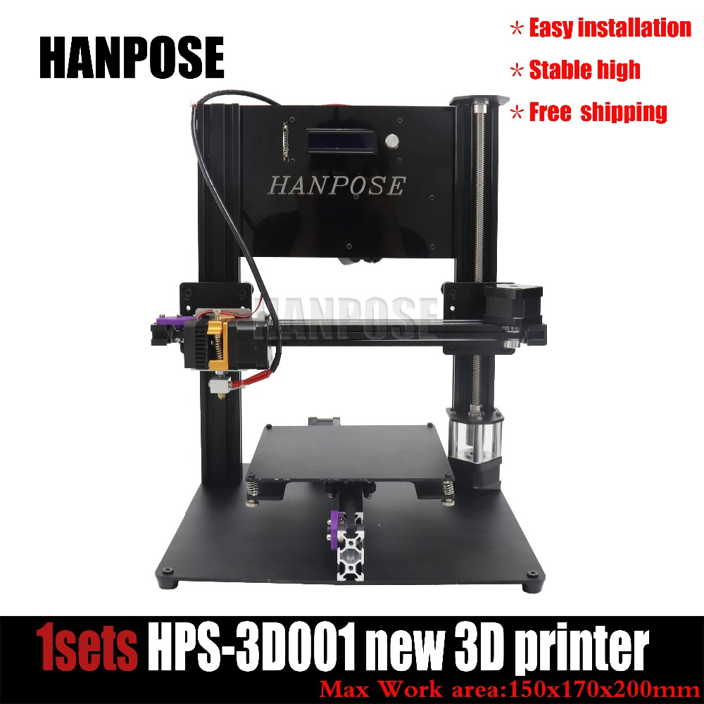 Free shipping NEW DIY Kit Cheap 3D printer I3 Mega full metal frame high precision Hot sale !!! metal frame linear guide rail for xzy axix high quality precision prusa i3 plus creality 3d cr 10 400 400 3d printer diy kit