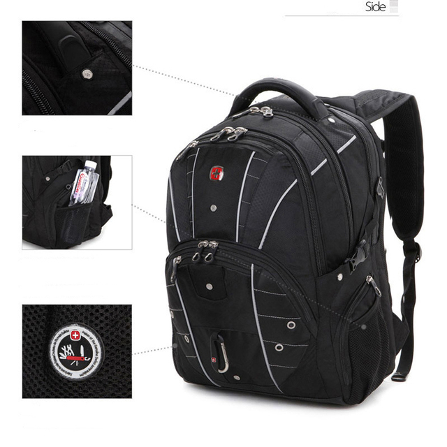 Brand New Multifunctional Backpack High volume 5 Layer Travel bag Schoolbag Backpack for laptop 12 2