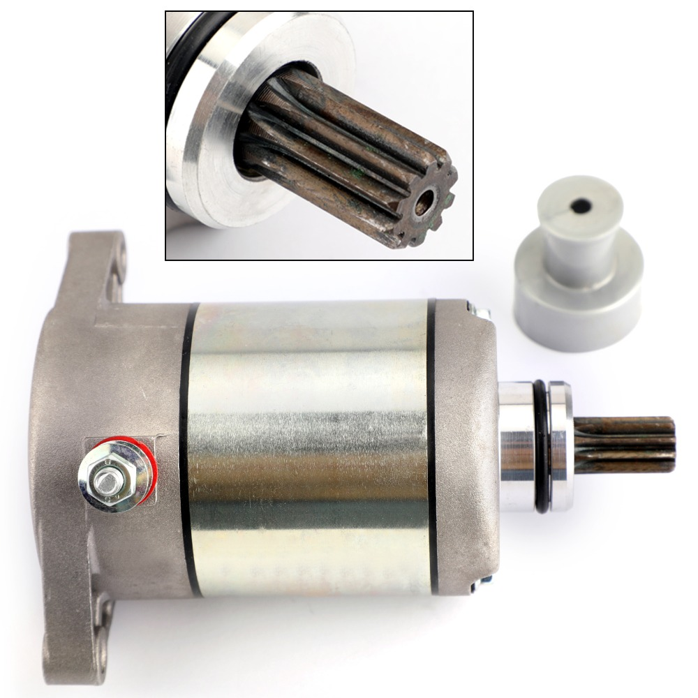 Areyourshop Motorcycle Electric Starter Motor Starting For Suzuki LT F250 LT F4WD for Arctic Cat 250