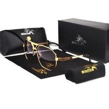 MINCL lunettes de soleil surdimensionnées homme