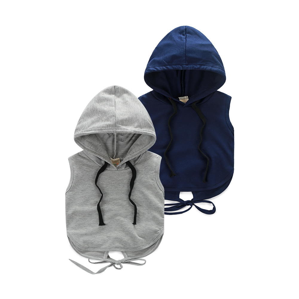 Online Buy Wholesale boys sleeveless hoodie from China boys ...
