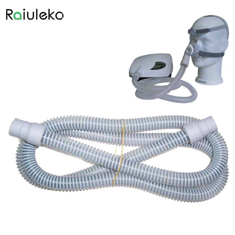 High quality CPAP Air Silicon Tubing Connect Nasal Mask Breathing Apparatus Sleep Apnea Bruxism Accessories Oxygen Piping