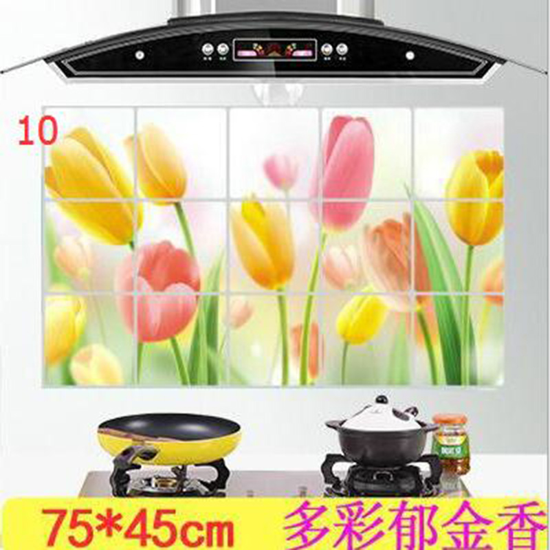 HTB13j8UOXXXXXcCXpXXq6xXFXXXp - kitchen Anti-smoke Decorative wall sticker Resistant to high aluminum foil tiles cabinet